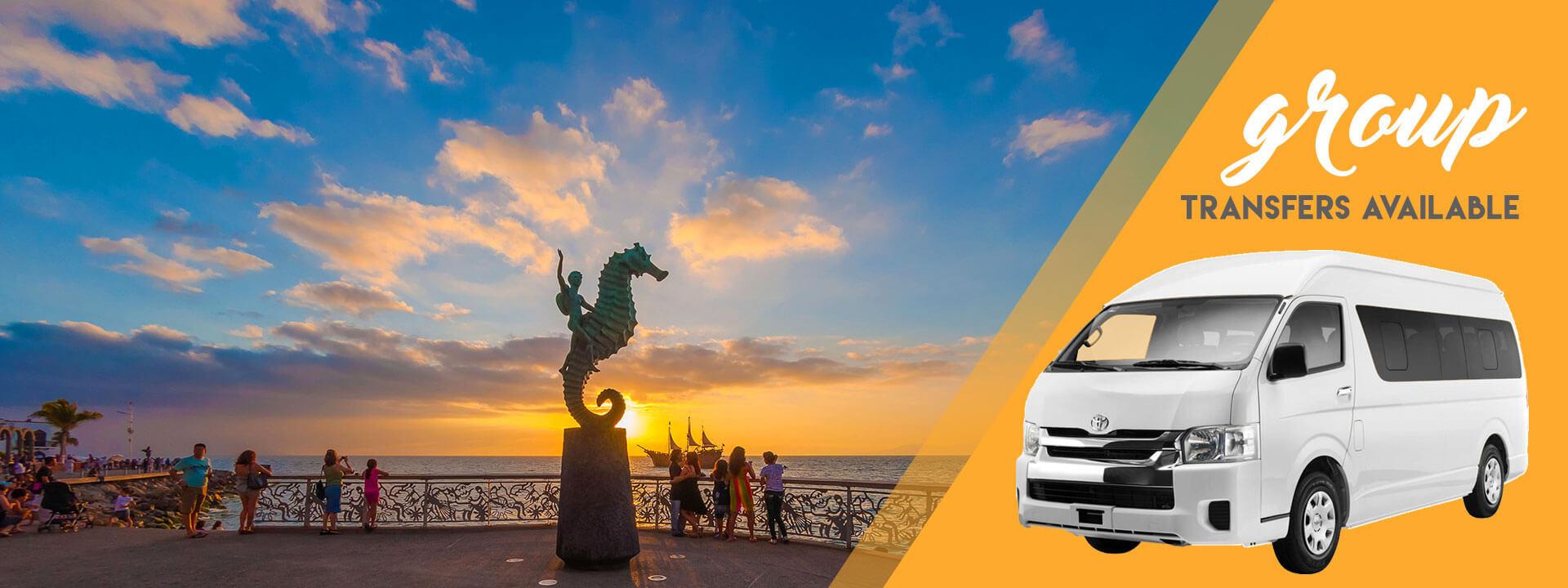 Puerto Vallarta Group transportation available